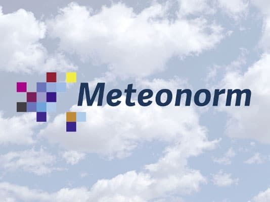 Logo représentation de Meteonorm