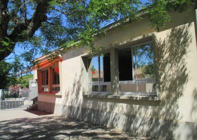 Les Cigales Façade école maternelle