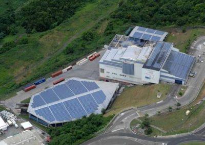 Centrale photovoltaïque de l'incinérateur de la Trompeuse