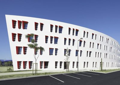Capdeville façade extérieure