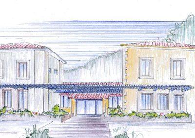 Soubès Perspective architecturale