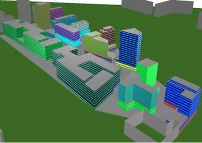 Clichy Simulation thermique