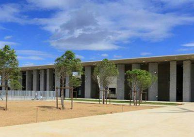 Lycée Bloch Façade d'entrée
