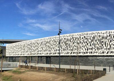 Collège Bourquin Façade
