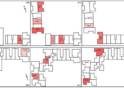 Suivi ecoparc Cartographie de l'inconfort mesuré
