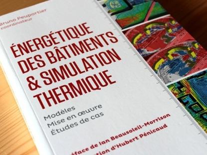 """Sortie du livre """"Énergétique des bâtiments et simulation thermique"""""""