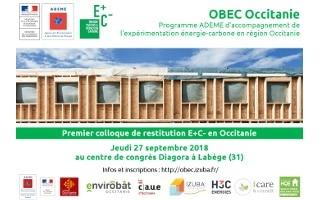 Retour sur le premier colloque E+C- le 27 septembre à Toulouse