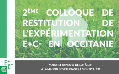 Retour sur le second colloque E+C- le 11 juin à Montpellier
