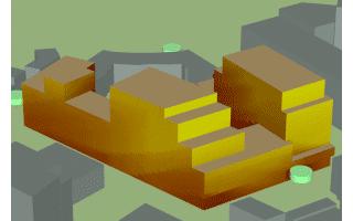 Simulation de l'insolation des façades