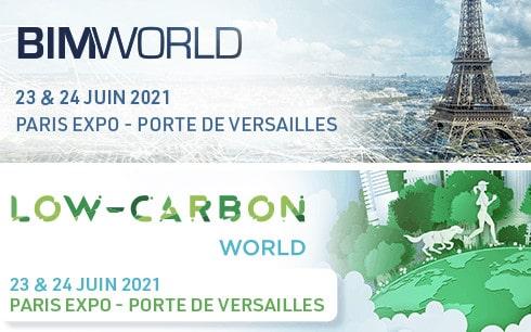 logo bimworld lowcarbonworld 2021