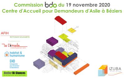 Commission BDO du 19 novembre : projet CADA à Montpellier