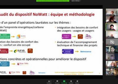 audit nowatt travail collaboratif references etudes energetiques izuba