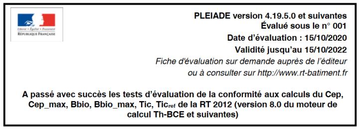 evaluation logiciel RT2012